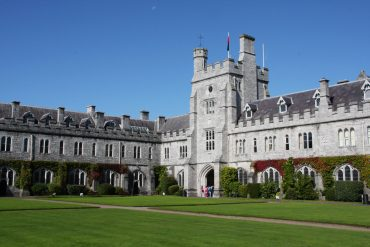 the main quadrangle in UCC on a sunny day